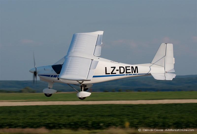 Подарете полет и урок по пилотиране на Летище Казанлък