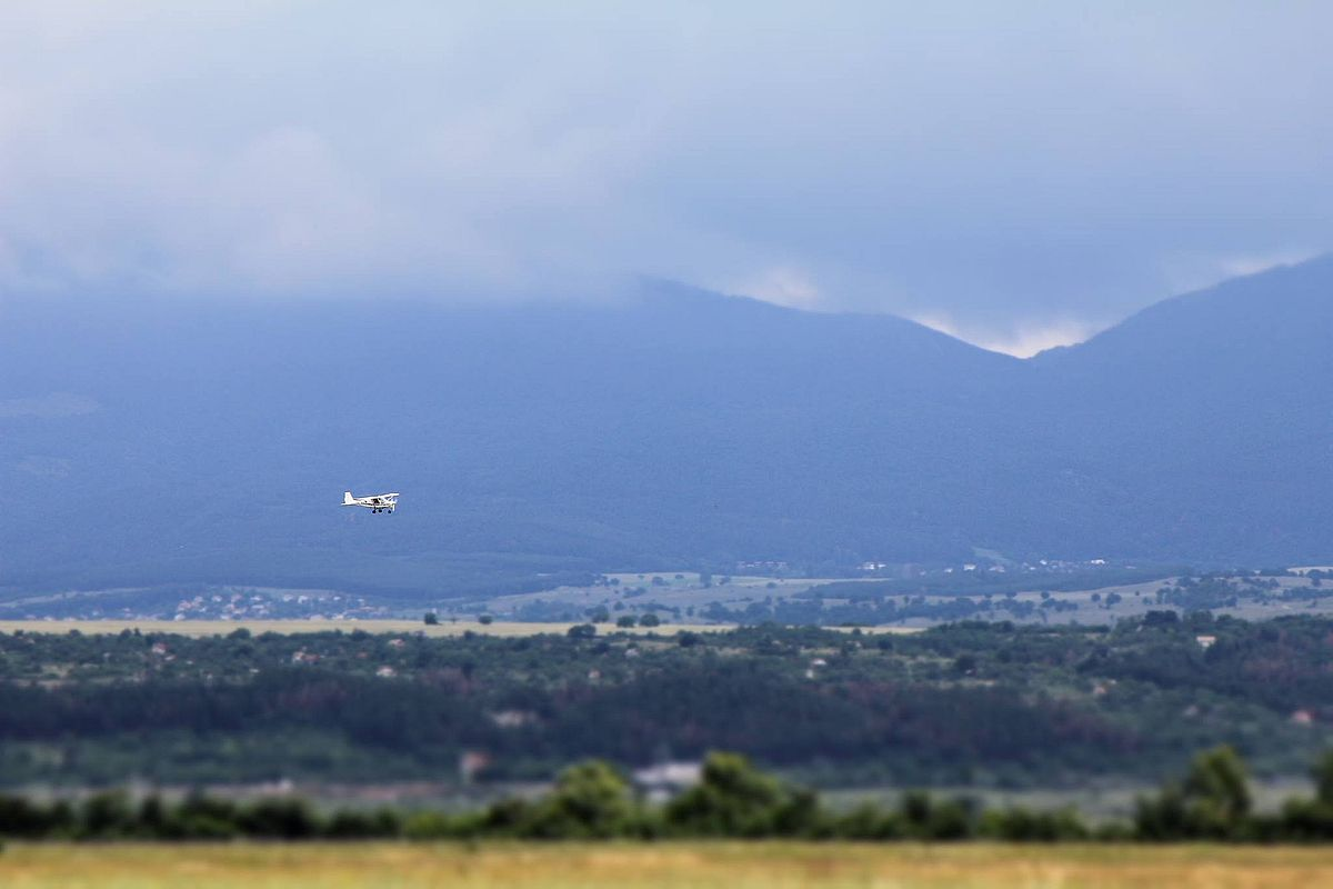 Kazanlak Airfield Park area